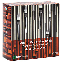 Мари-Клэр Элэйн,Адольф Буш,Sankt Nicolai Kirke Marie-Claire Alain. Bach. Complete Works For Organ (15 CD) e sjоgren prelude and fugue in d minor op 39