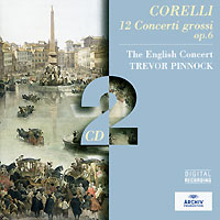 Тревор Пиннок,The English Concert Orchestra Trevor Pinnock. Corelli. 12 Concerti Grossi Op. 6 (2 CD) босоножки julia grossi julia grossi mp002xw192ib