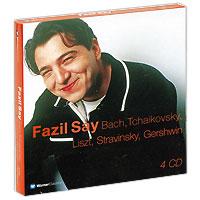 Fazil Say. Bach / Tchaikovsky / Liszt / Stravinsky / Gershwin (4 CD)