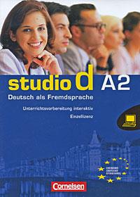 лучшая цена Studio d A2: Deutsch als Fremdsprache. Unterrichtsvorbereitung interaktiv. Einzellizenz 1.00.00