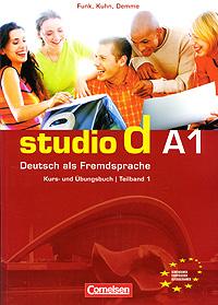 лучшая цена Studio d A1: Deutsch als Fremdsprache: Kurs- und Ubungsbuch / Teilband 1 (+ CD)