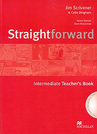 лучшая цена Straightforward: Teacher's Book: Intermediate Level (+ 2 CD)