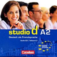 лучшая цена Studio d A2: Deutsch als Fremdsprache: Teilband 2 (аудиокурс на CD)