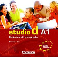 лучшая цена Studio d A1: Deutsch als Fremdsprache: Einheit 7-12 (аудиокурс на CD)