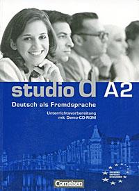 Studio d A2: Deutsch als Fremdsprache: Unterrichtsvorbereitung (+ CD-ROM) optimal a2 lehrwerk fur deutsch als fremdsprache lehrbuch аудиокурс на 2 cd