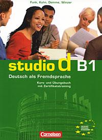 лучшая цена Studio d B1: Deutsch als Fremdsprache: Kurs- und Ubungsbuch: Teilband 2 (+ Zertifikatstraining, CD)