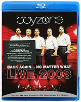 Boyzone - Back Again...No Matter What: Live 2008 (Blu-ray) i love me бижутерия