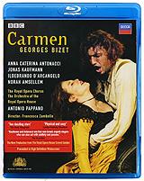 Bizet, Antonio Pappano: Carmen (Blu-ray) цены