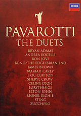 Luciano Pavarotti: The Duets celine dion through the eyes of the world