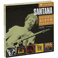 Карлос Сантана Santana. Original Album Classics (5 CD) цена и фото
