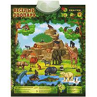 Знаток Электронный озвученный плакат Веселый зоопарк