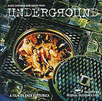 Goran Bregovic. Underground. Soundtrack goran bregovic music for films