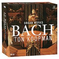 Тон Купман,The Amsterdam Baroque Orchestra & Choir Das Alte Werk. Bach. Organ Works (16 CD) j m bach auf la t uns den herren loben