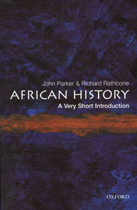 African History: A Very Short Introduction african history a very short introduction