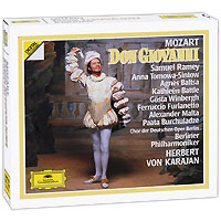 Герберт Караян,Berliner Philharmoniker Herbert Von Karajan. Mozart. Don Giovanni (3 CD) best karajan 100 6 cd