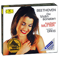 Анна-Софи Муттер,Ламберт Оркис Anne-Sophie Mutter, Lambert Orkis. Beethoven. Die Violinsonaten (4 CD) анна софи муттер anne sophie mutter mendelssohn cd dvd