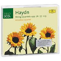 Amadeus Quartet Amadeus Quartet. Haydn. String Quartets Opp.76, 77, 103 (3 CD) серьги by song quartet 3022