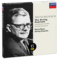 Fitzwilliam String Quartet Fitzwilliam String Quartet. Shostakovich. The String Quartets (6 CD) недорого