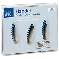 Саймон Престон,Тревор Пиннок,The English Concert Orchestra Simon Preston, Trevor Pinnock. Handel. Complete Organ Concertos (3 CD) f swinstead fantasie in b flat minor
