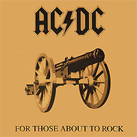 AC/DC AC/DC. For Those About To Rock We Salute You (LP) ac dc ac dc let there be rock lp