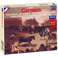 Георг Шолти,London Philharmonic Orchestra Sir Georg Solti. Bizet. Carmen (3 CD) j rive king paraphrase de concert on bizet s carmen