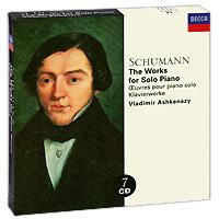 Владимир Ашкенази Vladimir Ashkenazy. Schumann. The Works For Solo Piano (7 CD) g catoire etude op 8