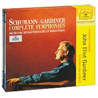 Джон Элиот Гардинер,Orchestre Revolutionnaire Et Romantique,Гавин Эдвардс,Сюзан Дэнт John Eliot Gardiner. Schumann. Complete Symphonies (3 CD) a rubinstein symphony no 2 op 42 ocеan