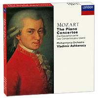 Владимир Ашкенази,Philharmonia Orchestra Vladimir Ashkenazy. Mozart. The Piano Concertos (10 CD) юджин орманди леопольд стоковский the philadelphia orchestra сергей рахманинов rachmaninoff plays rachmaninoff the four piano concertos 2 cd