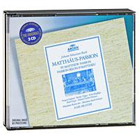 Карл Рихтер,Munchener Bach-Orchester Karl Richter. Bach. Matthaus-Passion (3 CD) курт редел pro arte orchester kurt redel bach essentials