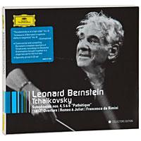 Леонард Бернштейн,New York Philharmonic Orchestra,Israel Philharmonic Orchestra Leonard Bernstein. Tchaikovsky. Symphonies Nos. 4, 5 & 6