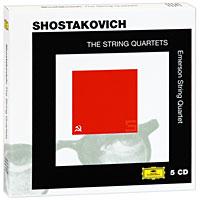 Emerson String Quartet Emerson String Quartet. Shostakovich. The String Quartets (5 CD) h bouma souvenir de perugia for string quartet