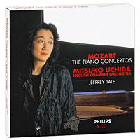 Мицуко Ючида,Джеффри Тэйт Mitsuko Uchida, Jeffrey Tate. Mozart. The Piano Concertos (8 CD) mozart mozart piano concertos 10 27