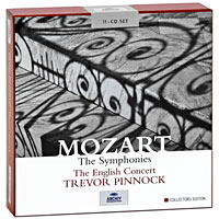 Тревор Пиннок,The English Concert Orchestra Trevor Pinnock. Mozart. The Symphonies. Collectors Edition (11 CD) тревор пиннок the english concert the english concert