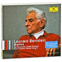 Леонард Бернштейн,Wiener Philharmoniker Leonard Bernstein. Brahms. Collectors Edition (5 CD) cd leonard bernstein wiener philharmoniker
