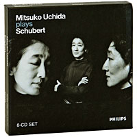 Мицуко Ючида Mitsuko Uchida Plays Schubert (8 CD) мицуко ючида the cleveland orchestra mitsuko uchida the cleveland orchestra mozart piano concertos 9 k271