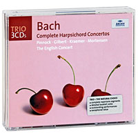Тревор Пиннок,The English Concert Orchestra Trevor Pinnock. Bach. The Harpsichord Concertos (3 CD) саймон престон тревор пиннок the english concert orchestra simon preston trevor pinnock handel complete organ concertos 3 cd