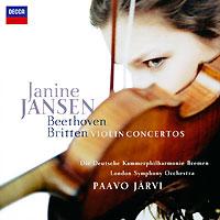 Дженин Дженсен Janine Jansen. Beethoven / Britten. Violin Concertos benjamin britten conducts britten 7 cd