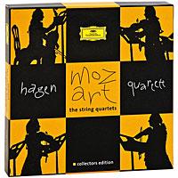 Hagen Quartett Hagen Quartet. Mozart. The String Quartets. Collectors Edition (7 CD) farid hagen