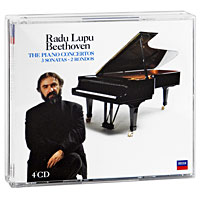 Зубин Мета,Раду Лупу,The Israel Philharmonic Orchestra Radu Lupu. Beethoven. The Concertos / 3 Sonatas / 2 Rondos, etc. (4 CD) beethoven the complete concertos volume 2