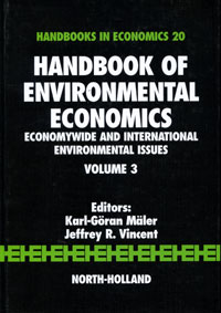 Handbook of Environmental Economics: Volume 3: Economywide and International Environmental Issues frances harris global environmental issues