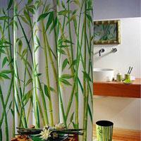 Штора Bambus green, 180 х 200 см цена
