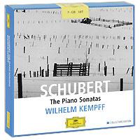 Вильгельм Кемпф Wilhelm Kempff. Schubert. The Piano Sonatas. Collectors Edition (7 CD) wilhelm kempff schubert impromptus d 899