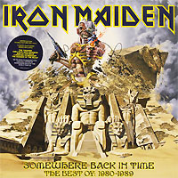 Iron Maiden Iron Maiden. Somewhere Back In Time. The Best Of: 1980-1989 (2 LP) бернинг спир burning spear man in the hills lp