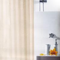Штора для ванной комнаты Magi Jasmin, цвет: бежевый, 240 х 180 см цена