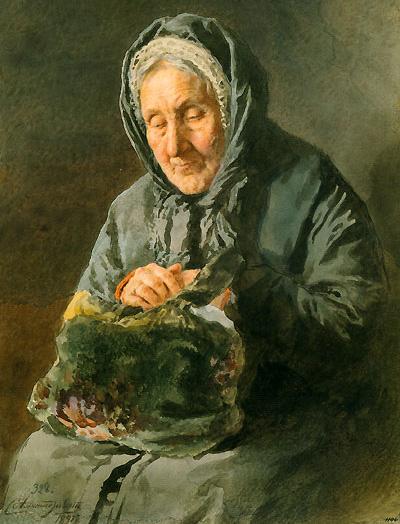 Рисунок и акварель в России. Вторая половина XIX века. И. Верховская