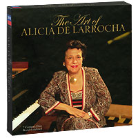 Алисия де Ларроча,The London Philharmonic Orchestra,London Sinfonietta,The Royal Philharmonic Orchestra Alicia De Larrocha. The Art Of Alicia De Larrocha (7 CD) алисия де ларроча chamber orchestra of the europe джордж солти london philharmonic orchestra mozart alicia de larrocha piano concertos 24 27 2 cd