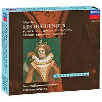 цена на Джоан Сазерленд,Мартина Арройо,Ричард Бонинг,Габриэль Бакье Richard Bonynge. Meyerbeer. Les Huguenots (4 CD)