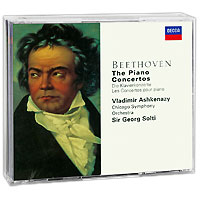 Vladimir Ashkenazy. Beethoven. The Piano Concertos (3 CD) beethoven the complete concertos volume 2