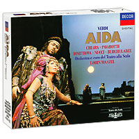 Лучано Паваротти,Лорин Маазель,Мария Чиара,Чена Димитрова Lorin Maazel. Verdi. Aida (3 CD) цена и фото