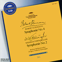 Вильгельм Фуртвенглер,Berliner Philharmoniker Wilhelm Furtwangler. Schuman / Furtwangler. Symphonie No. 4 / Symphonie No. 2 (2 CD) вильгельм фуртвенглер николай голованов вильгельм фуртвенглер xx s century greatest conductors